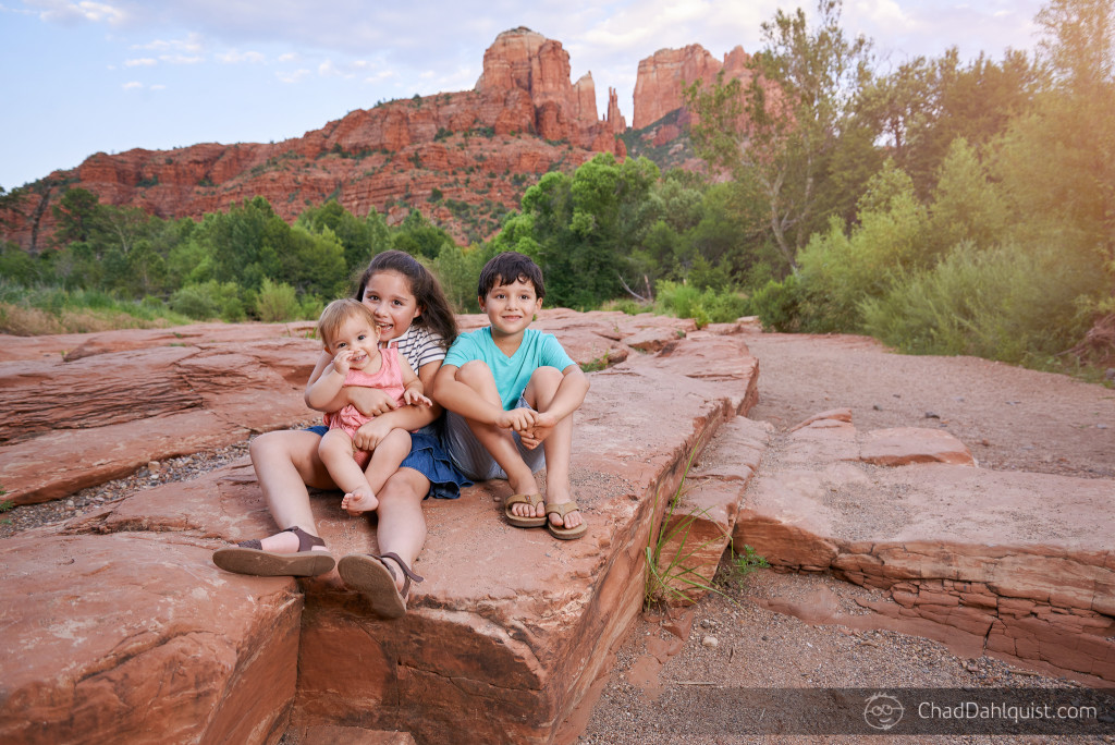 Family Adventure Portrait Session, Sedona, Arizona - Chad Dahlquist Photography